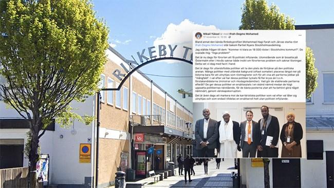 """Partiet Nyans storsatsar på Stockholms förorter med Rinkebys informelle """"borgmästare"""""""