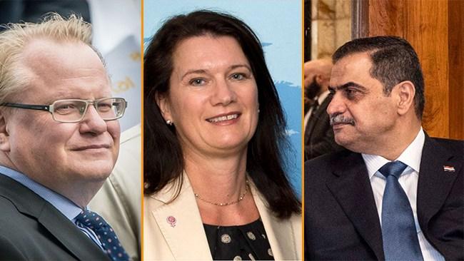 KU kritiserar S-ministrar efter affären med Iraks försvarsminister