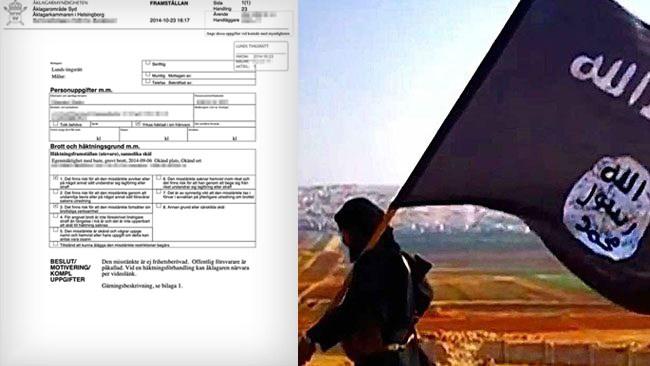 Misstänkt kvinnlig IS-terrorist tillbaka i Sverige – hålls inlåst