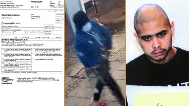 Psykstörde mördaren på rymmen häktad för bankomatmordet