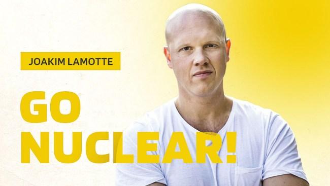 Frick anlitar Lamotte som influencer för kärnkraft
