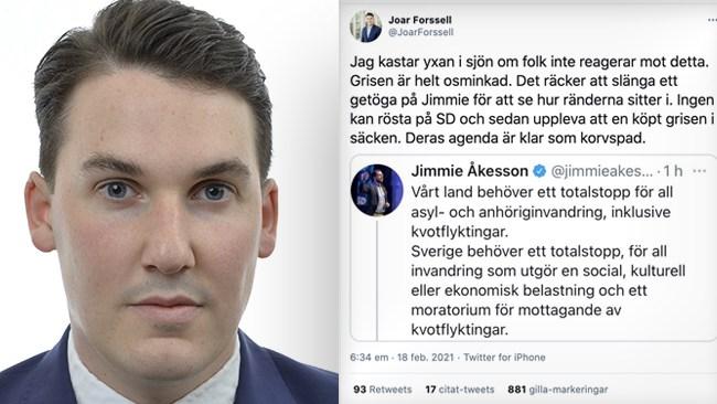 L-topp rasar mot Åkessons krav på migrationsstopp