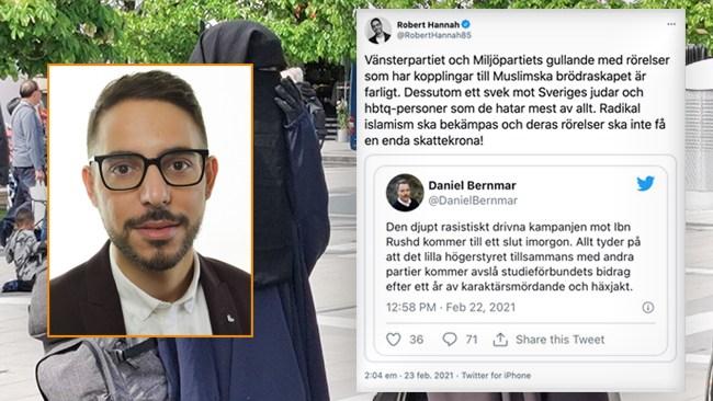 Liberala brösttoner om Ibn Rushd – strösslar bidrag i Stockholm