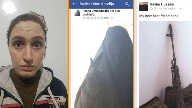 IS-medlemmen Rasha Homada tog sitt barn till Syrien – döms till tre års fängelse