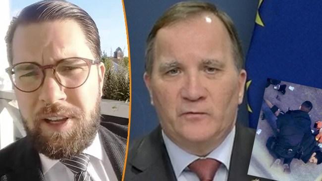 """Åkesson efter Löfvens """"inte en migrationsfråga"""": """"Sverige behöver en nollvision"""""""