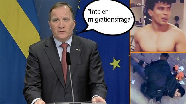 """Löfven om attacken i Vetlanda: """"Inte en migrationsfråga"""""""