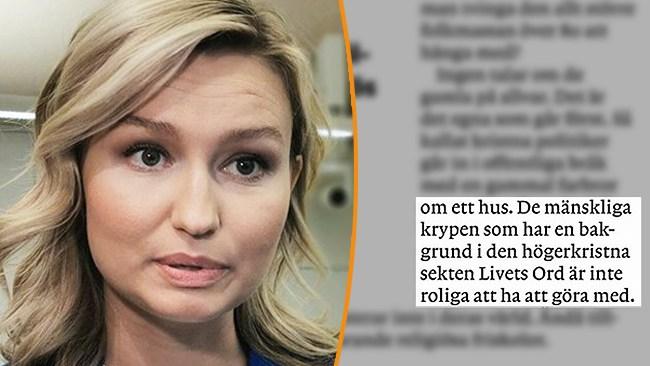 """Sportreporterns attack på Ebba Busch: """"De mänskliga krypen"""""""