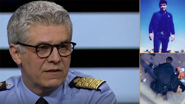 """Rikspolischefen: """"Fortfarande tryggt i vårt land"""""""