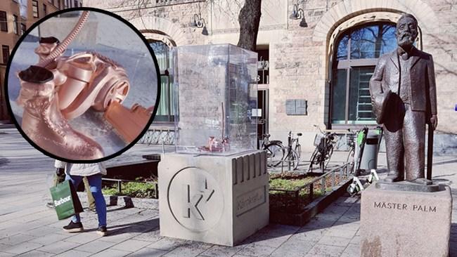 """Lamotte-statyn stulen: """"En attack mot den fria konsten"""""""