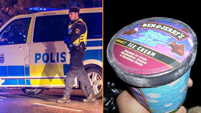 """Glasstjuvar i Mölndal jagas av polisen: """"Mörkt klädda"""""""