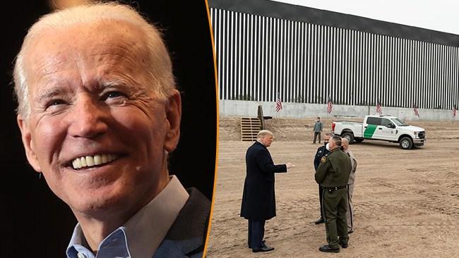 Skulle inte bygga en fot mer av mur – nu kan Biden återuppta Trumps murbygge mot Mexiko