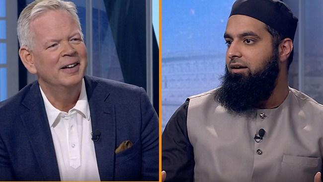 SVT bjöd in imam från muslimsk skola som separerar pojkar och flickor