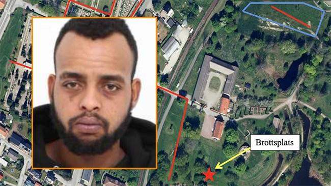 Abdi Daher försökte våldta pensionär i Sölvesborg