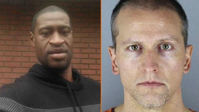 Polismannen Derek Chauvin fälls för dråp på George Floyd