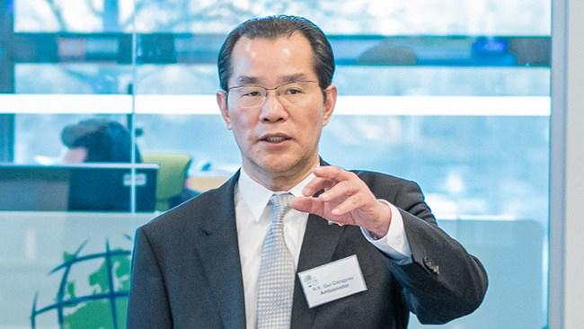 Hög tid att förklara Kinas ambassadör icke önskvärd