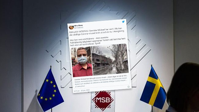 Folkhälsomyndigheten anmälde kritiker till MSB