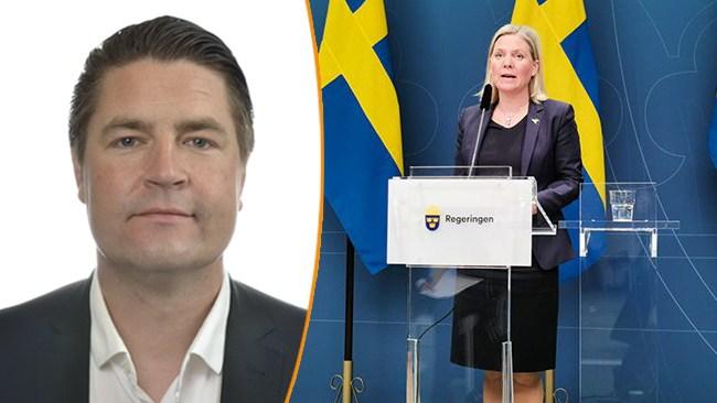 Sjöstedt (SD): S gör skattehöjningar och lägger pengar på strunt