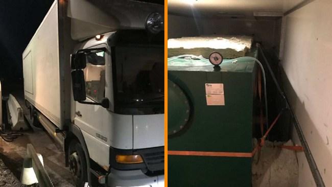 Stal tusentals liter diesel med specialmodifierad tjuvlastbil
