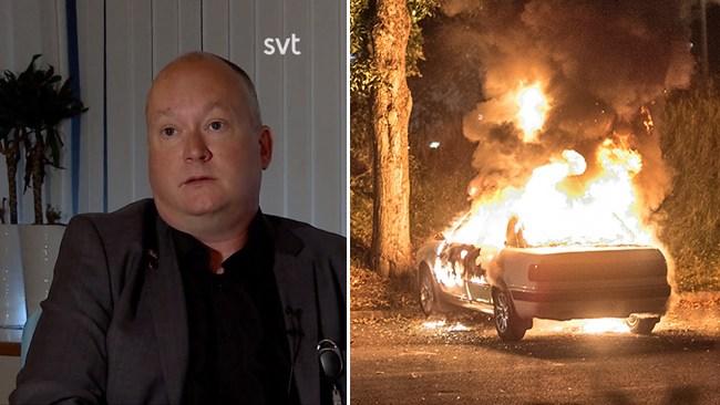 Kommuntoppen om bilbränderna: Nedstängningen spelade en stor roll