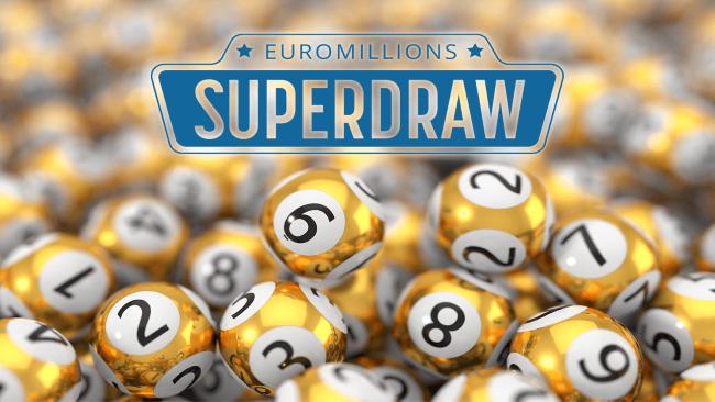 Det är dags för EuroMillions populära Superdragning!