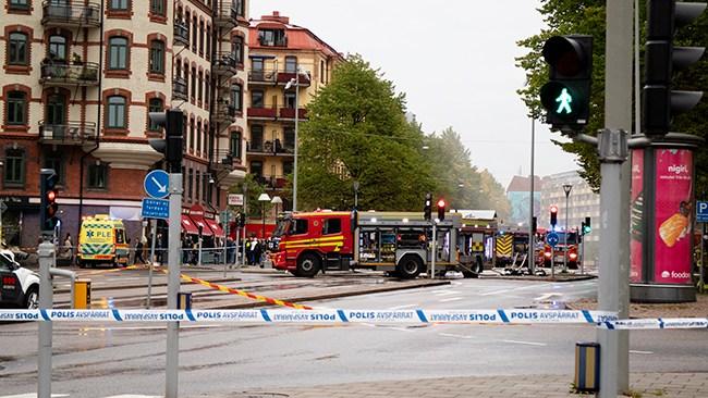 Polisens teori om explosionen: Utplacerad sprängladdning