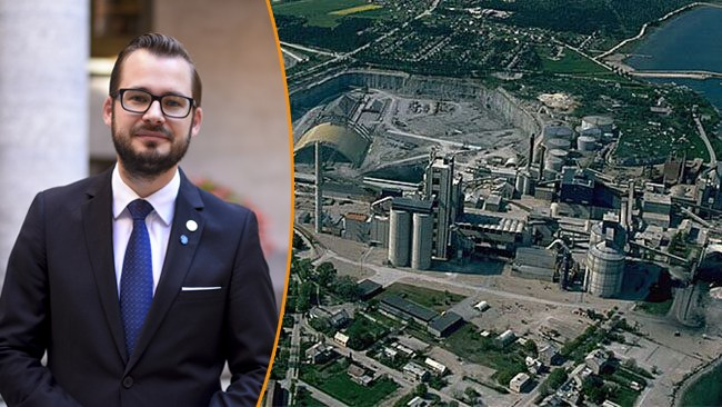 """Bäckström Johansson (SD): """"Den långsiktiga försörjningen av cement är långt ifrån säkrad"""""""