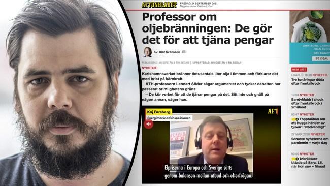 Så vilseleder Aftonbladet om varför Karlshamn eldar tjockolja
