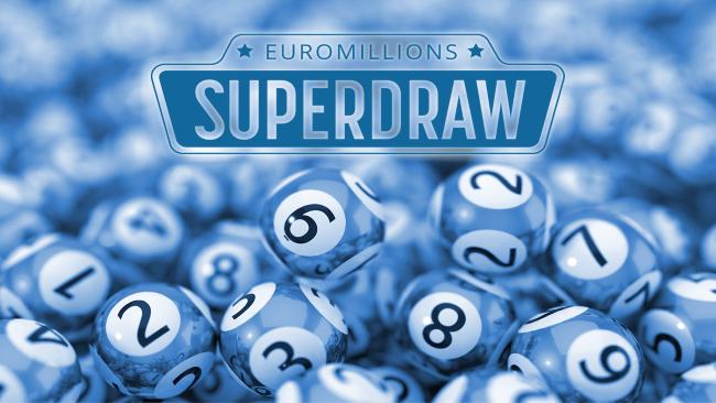 Jackpotten i EuroMillions Superdragning är rekordstor: 220 miljoner € (176 miljoner € efter avdrag)!