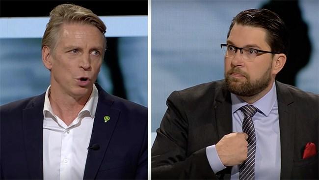 """Åkessons vrede mot Bolund: """"Kallar du mig för nazist?"""""""