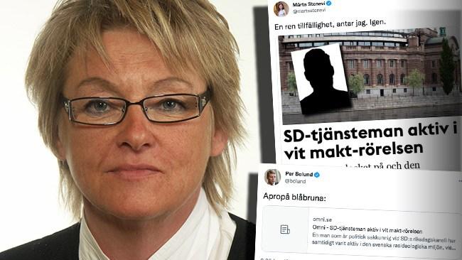 """S-toppen Britt Bohlin kände till tjänstemannens aktivism – planerade """"svenska zoner"""""""