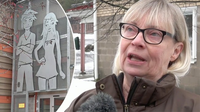 """Kvinnojour kräver att konstverk tas ned: """"Sexistiskt"""""""