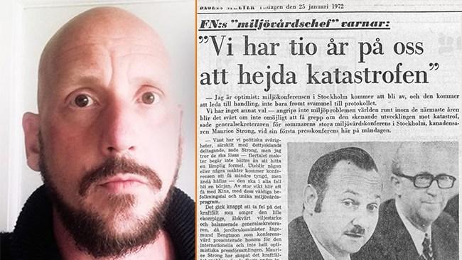 Mathiasson: Världen gick under redan 1982, bara så du vet