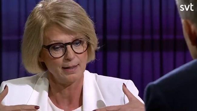 M-topp kallade SD-politik rasistisk – flipflopar i SVT