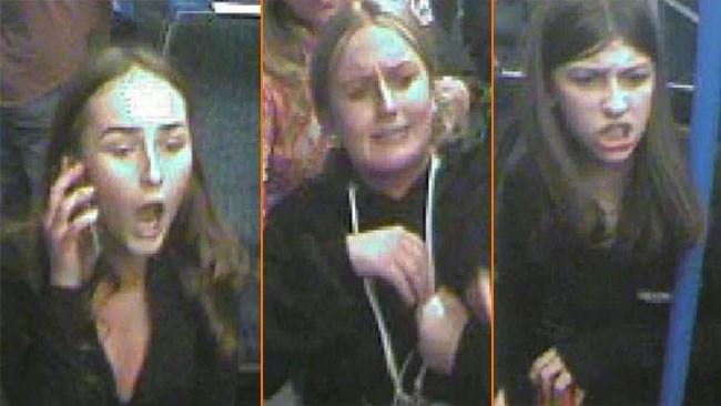Tjejgäng löpte amok på tåg – slog passagerare med flaskor